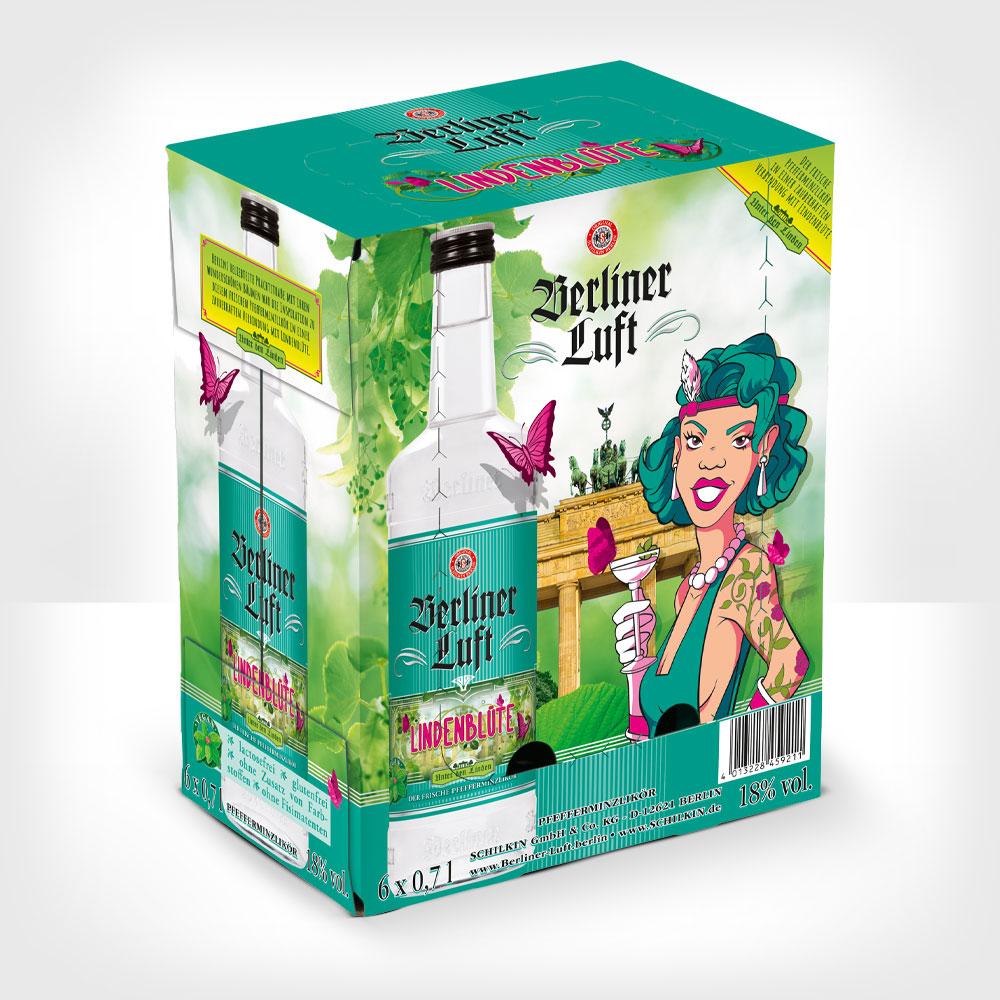 Berliner Luft Lindenblüte 0,7 l Verpackung