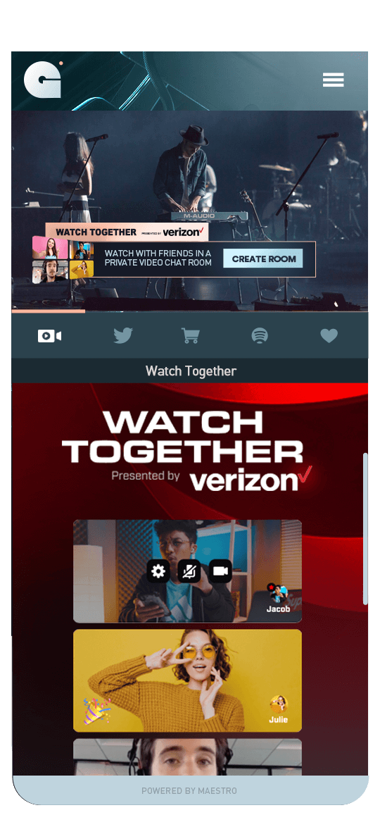 Watch Together -  Live Streaming | Maestro