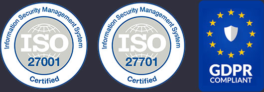 Maestro Certified by ISO & GDPR