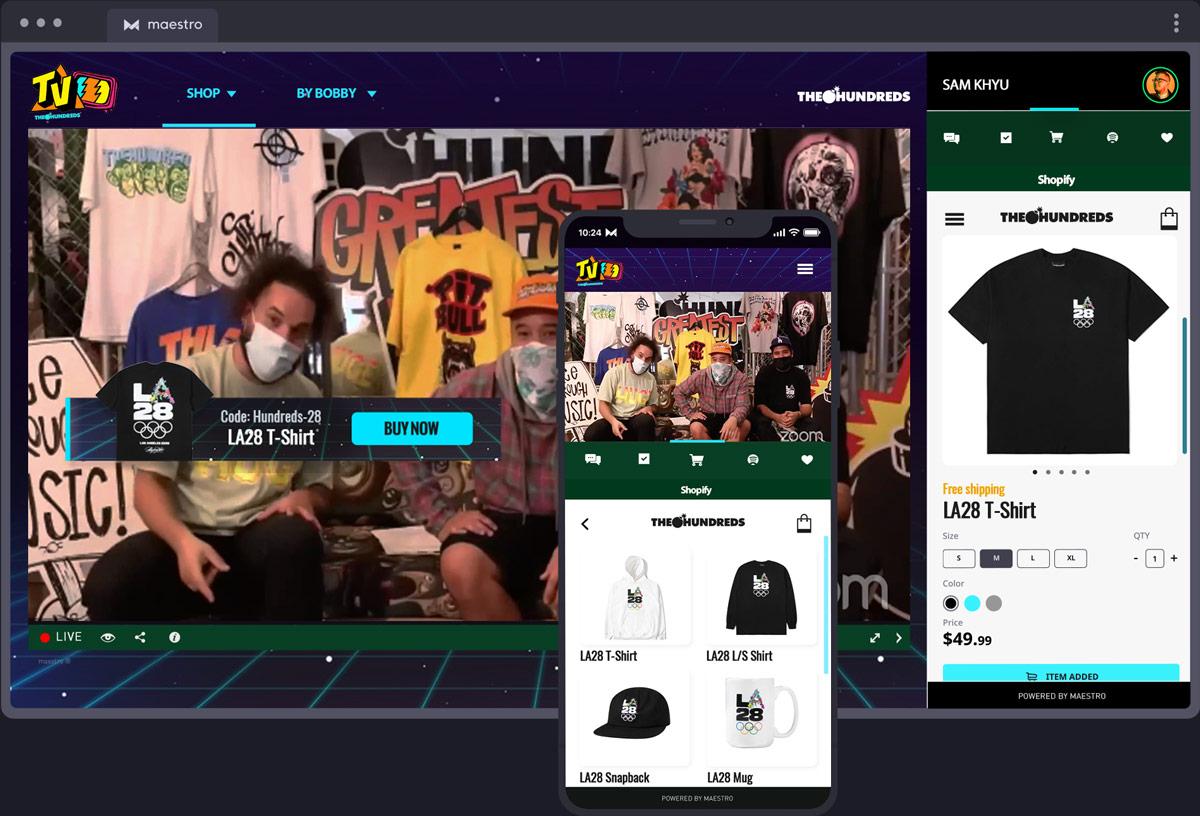 Retail & Fashion   Maestro Live Streaming