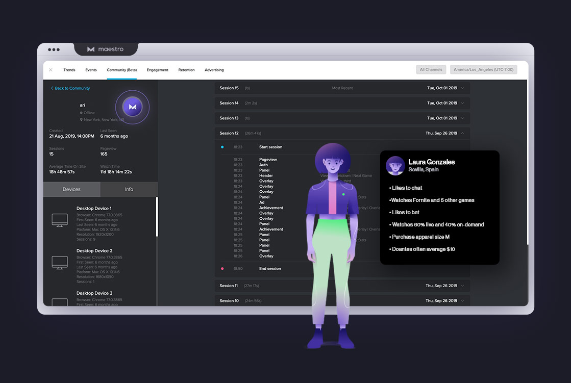 Audience database | Analyze and Optimize with Maestro