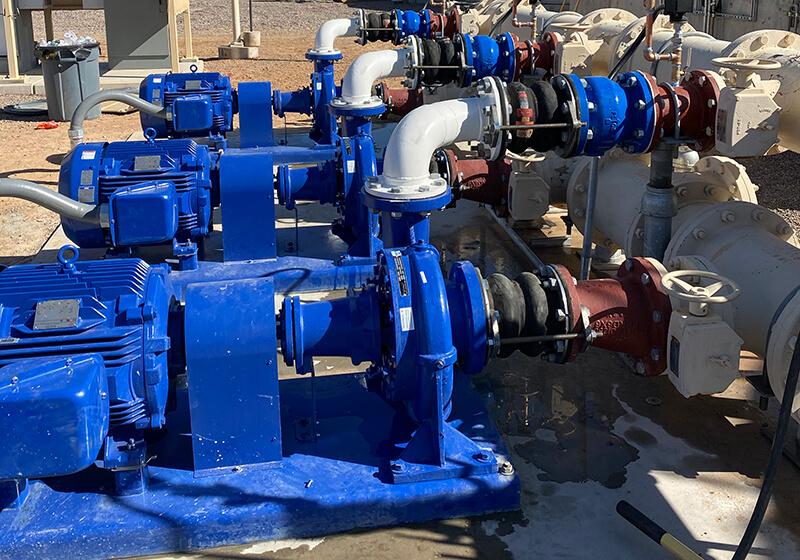 JCH municipal pipes work