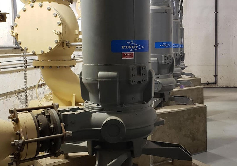 JCH water and wastewater work for municipalities