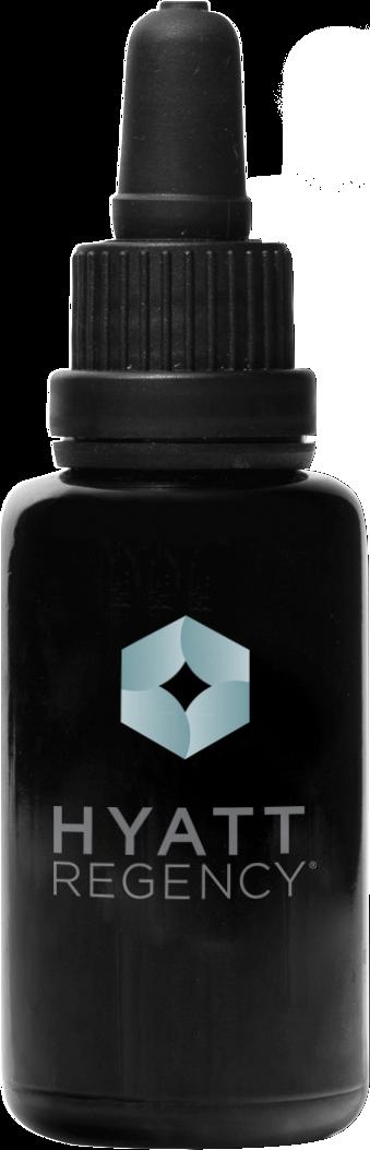 Hyatt Regency black bottle
