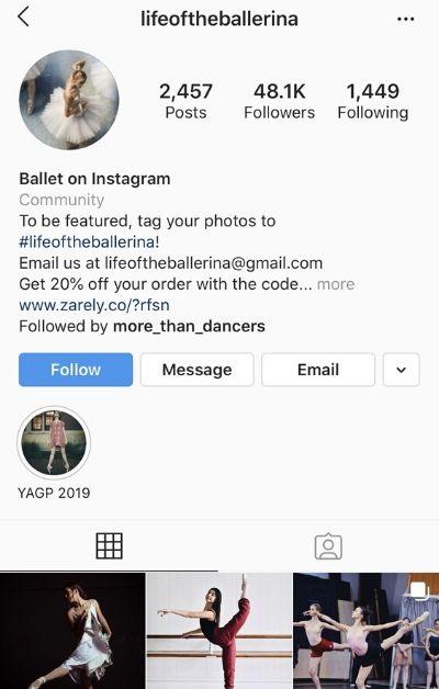 How do I get 10K follower on my dance instagram account