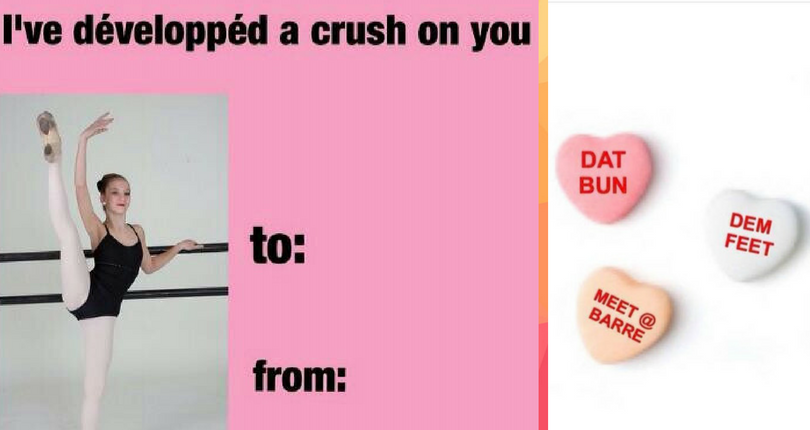 Valentine Memes Only Dancers Will Appreciate
