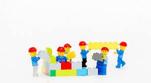 legos at play