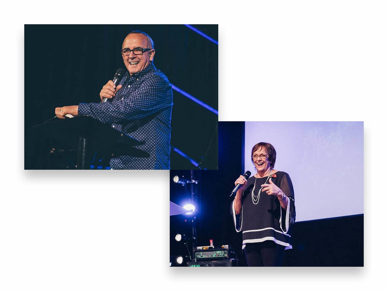 Pastor Bruce and Helen Monk