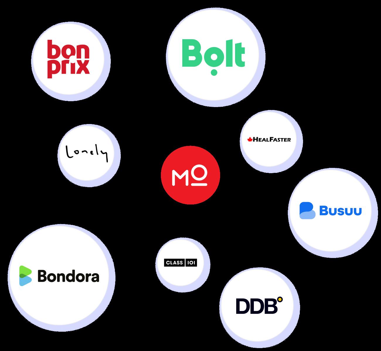 An illustrative image on Modash's customers