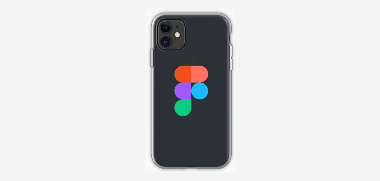 Smartphone case with Figma logo