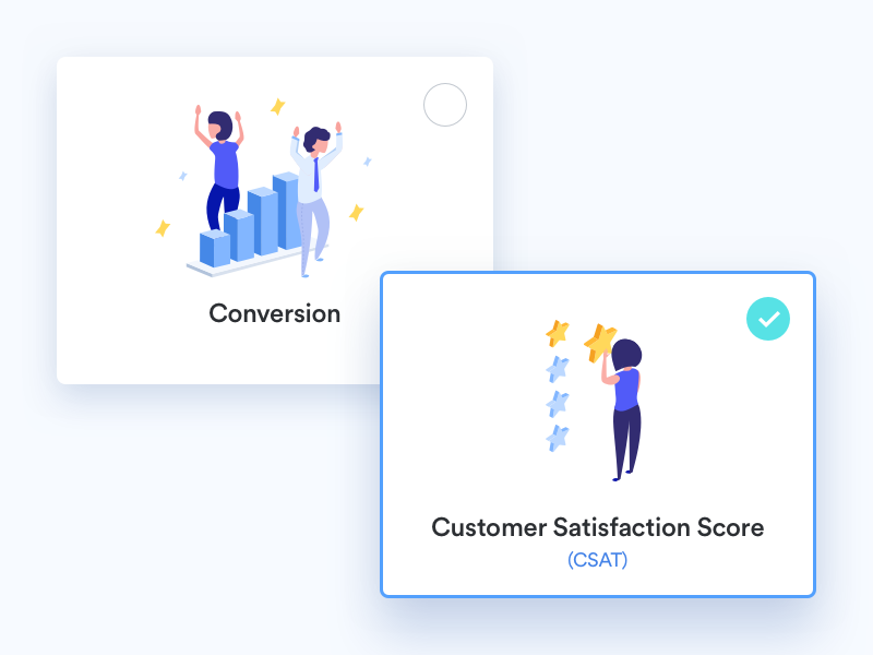 Illustrations for Salemove pricing page by Glia