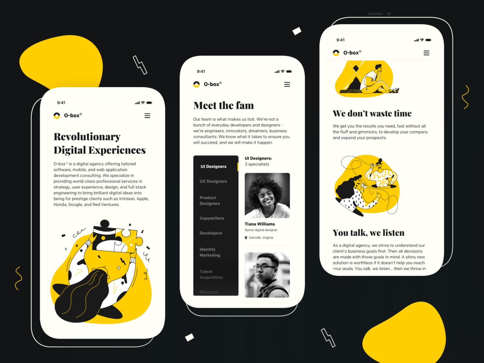 Week 22 - Design Agency Branding Concept