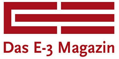 Logo: Das e3 Magazin – Information und Bildungsarbeit von und für die SAP®-Community