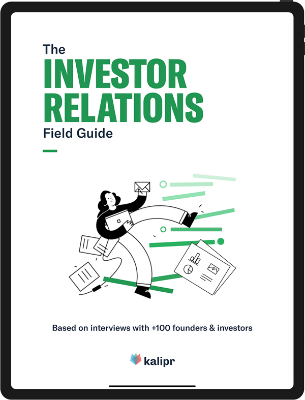 The Investor Relations Field Guide