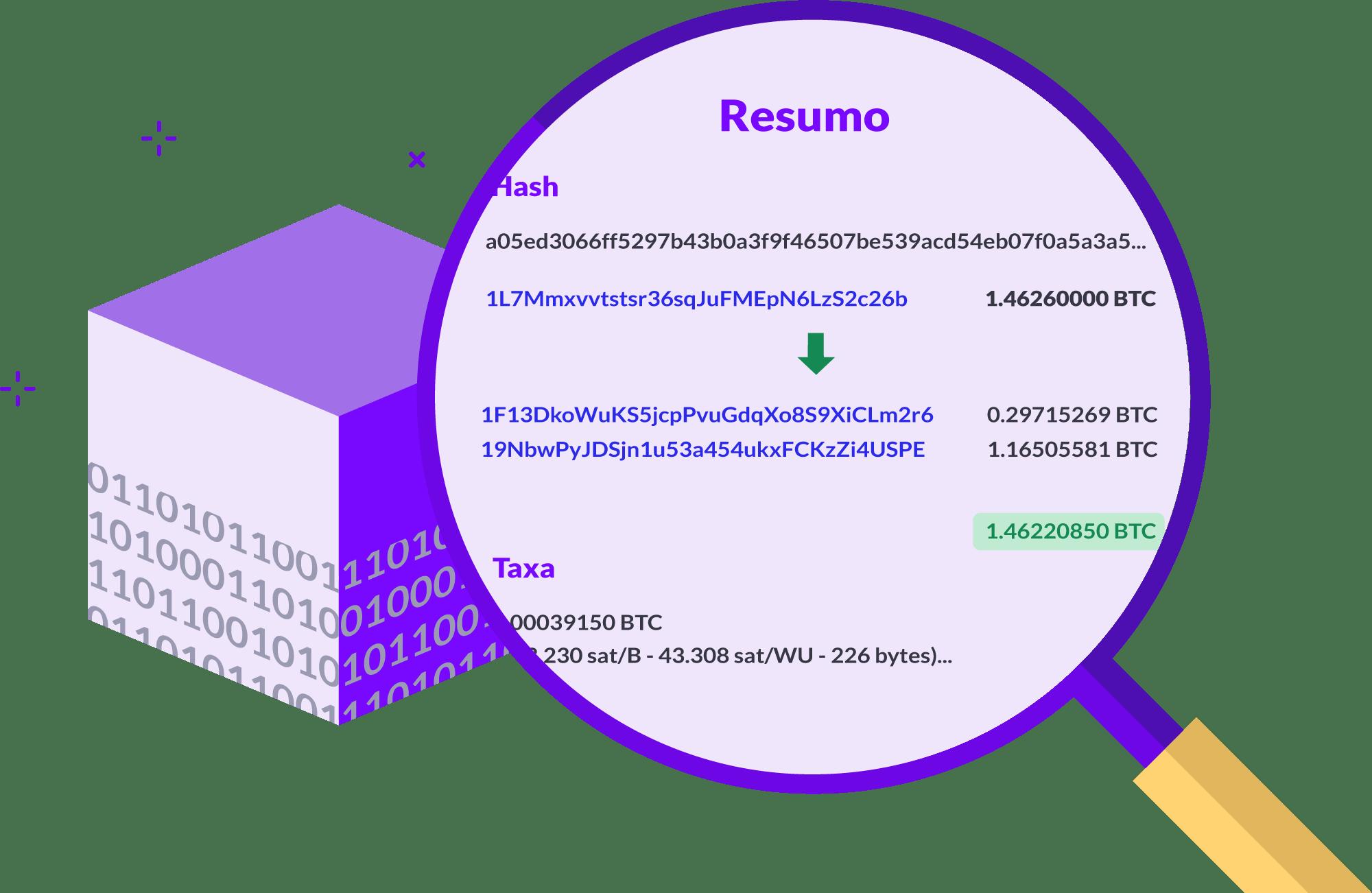 Como explorar o blockchain
