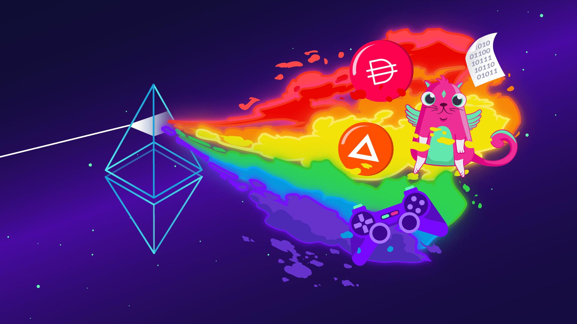 Criação de tokens na Ethereum