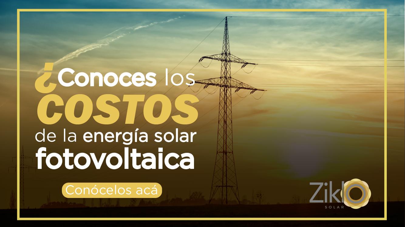 Costos de la energía solar