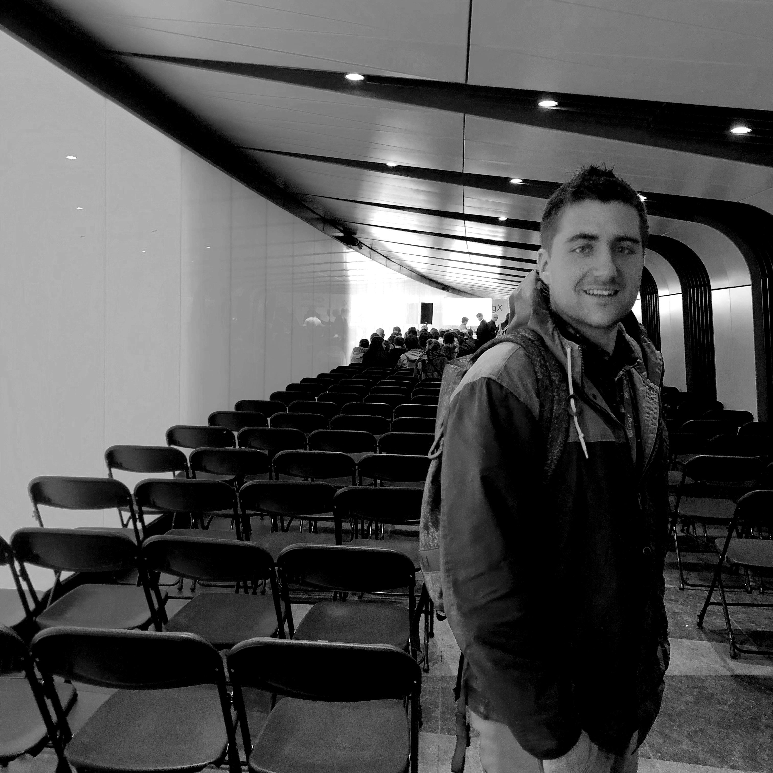 David, CTO at the digital conference in London