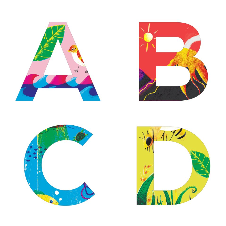 ABCD - A Nature Alphabet Book