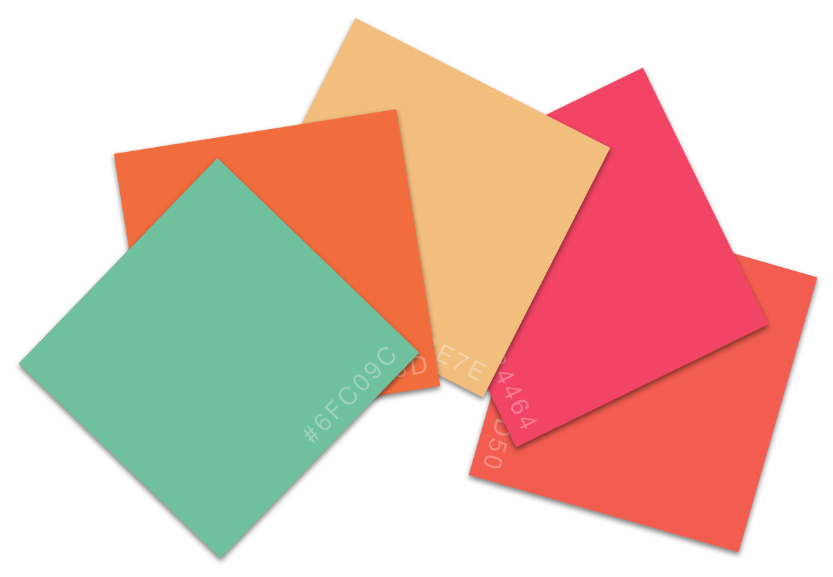 My color swatches image