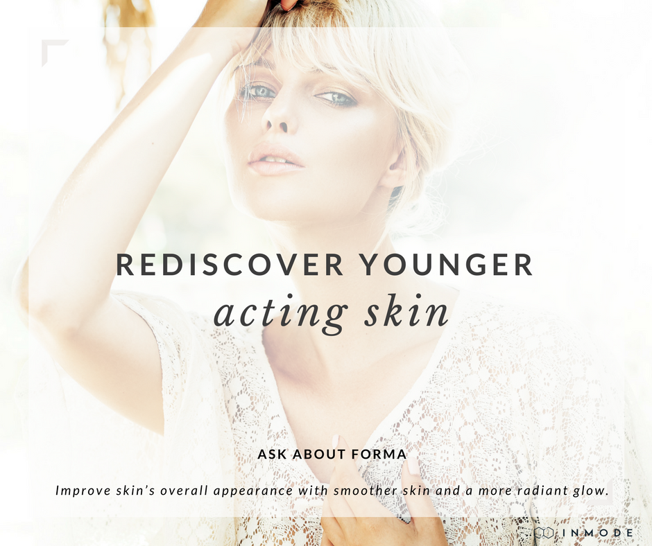 Radio frequency that provides deep heating, stimulating immense collagen production for skin tightening.