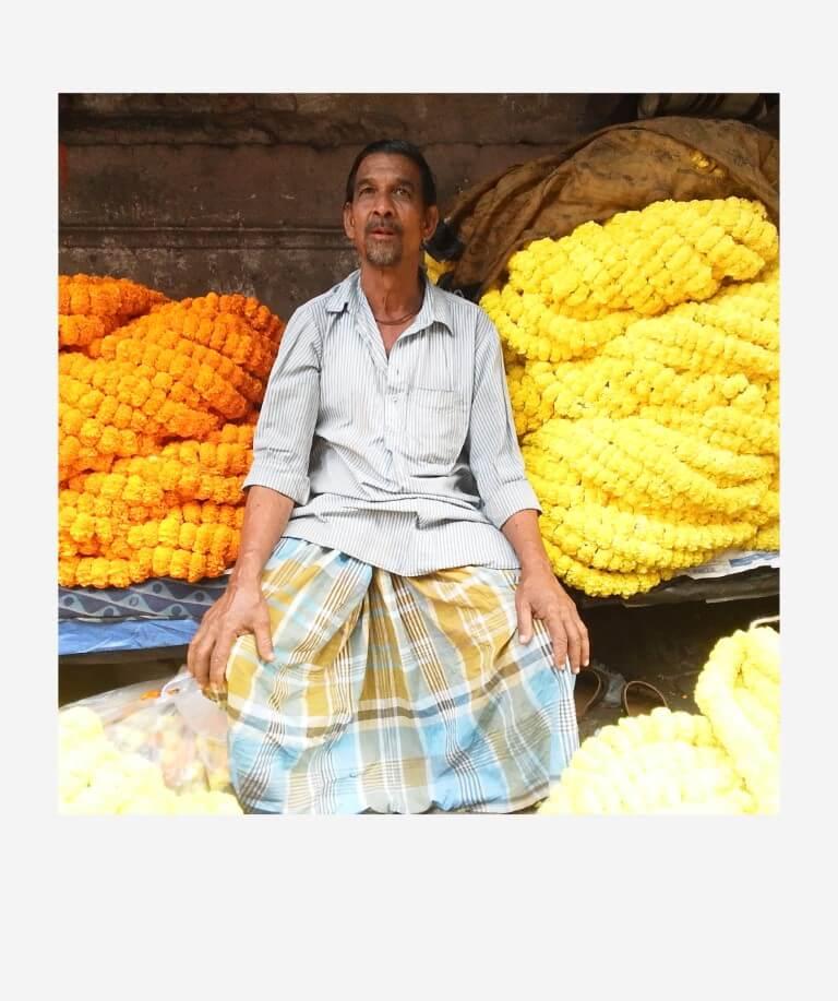 Projekt »Malik Ghat Flower Market«