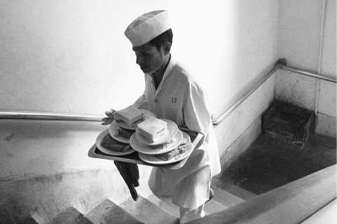 Projekt »collected kolkata« Waiter