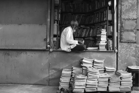 Projekt »collected kolkata« Bookstalls at College Street