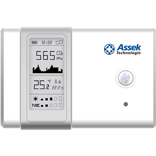 Capteur de qualité d'air Assek