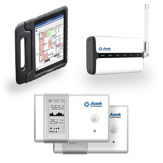 Assek Technology air quality measurement kit