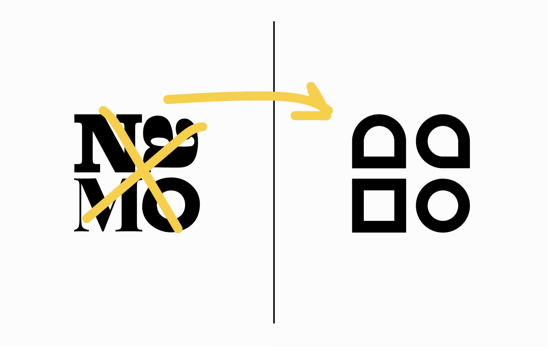 Namo - Agentur für Branding und Webdesign in Bern - Neues Logo