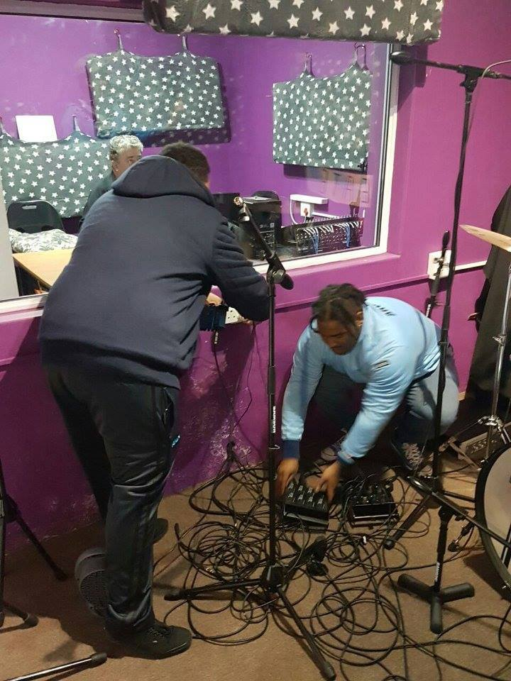 Oakfields College Sound Students In Action