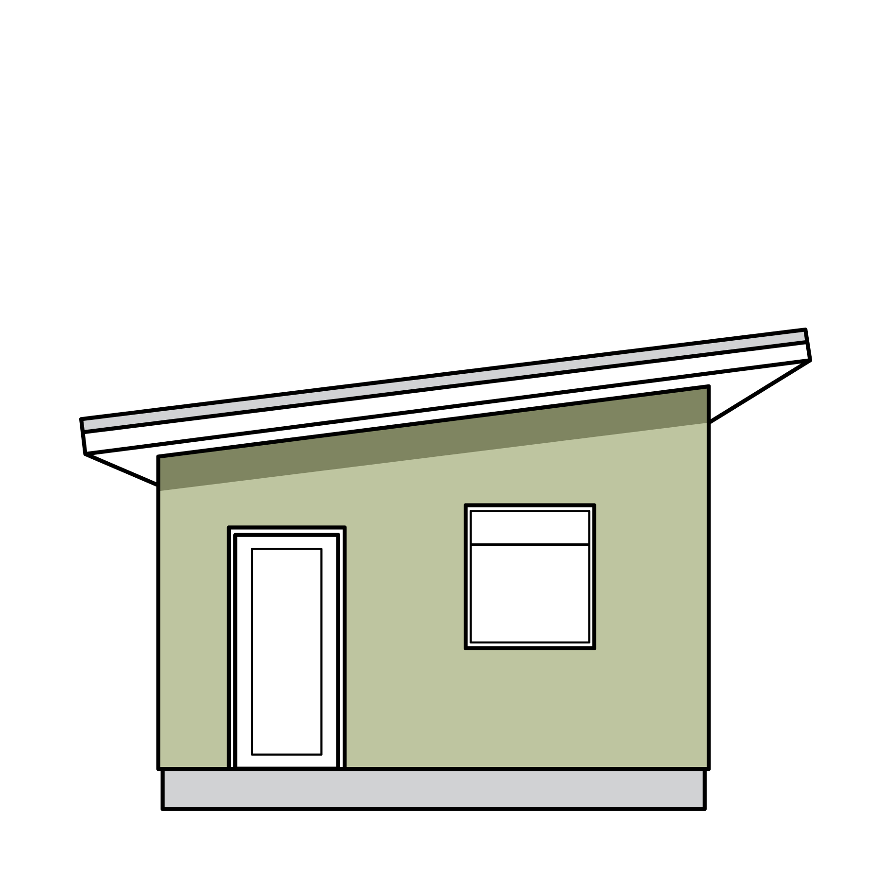 An illustration of Foothold's smallest model, the pika