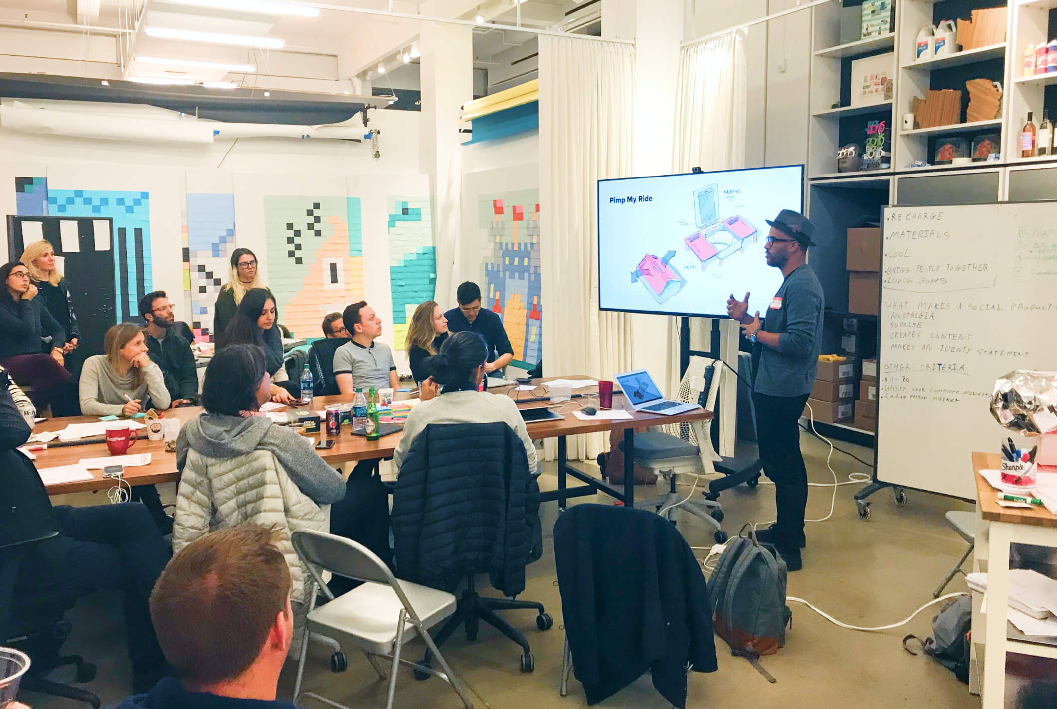 A facilitated innovation sprint workshop for BuzzFeed