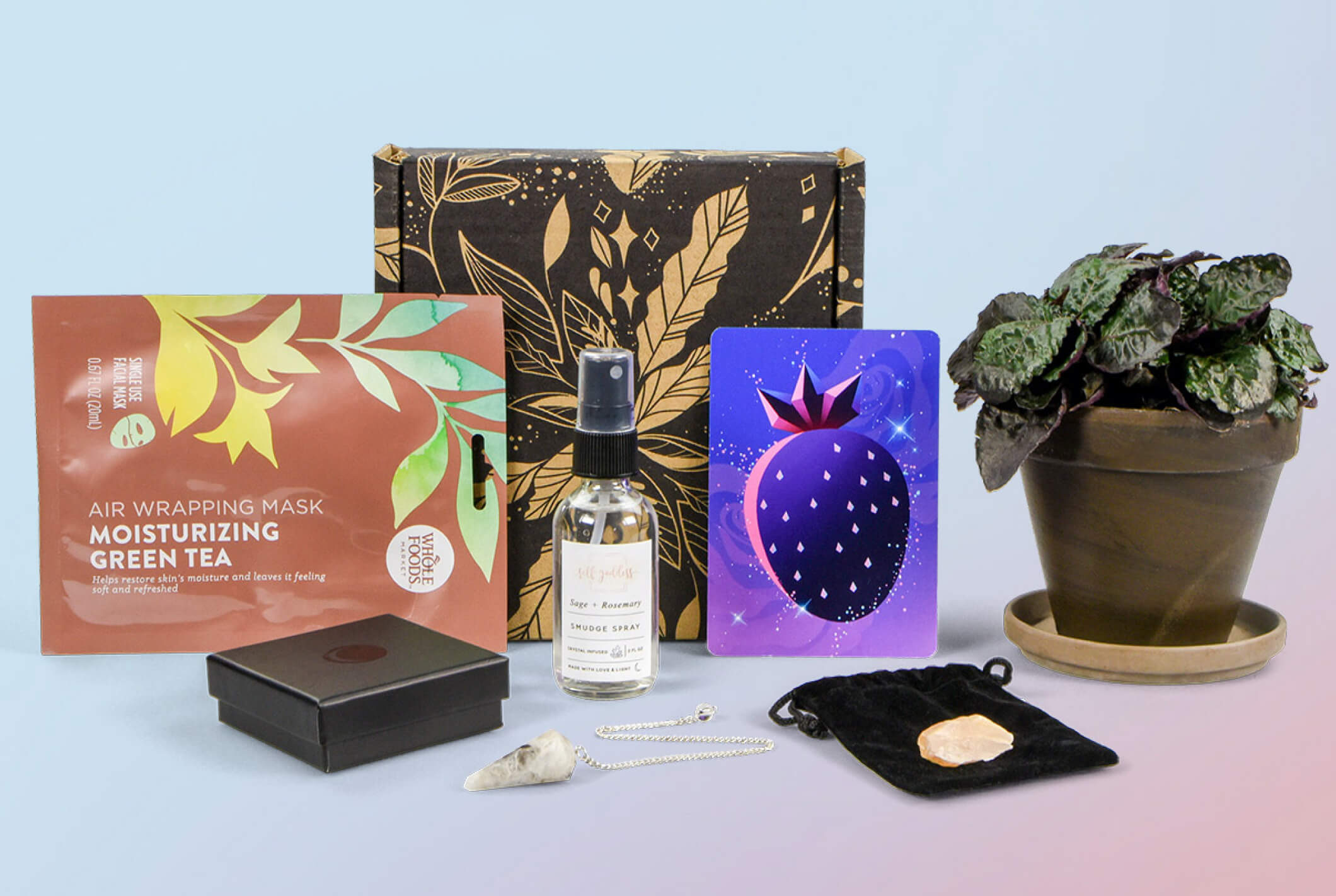 Lunarly, a subscription box focused on the lunar calendar and intention setting