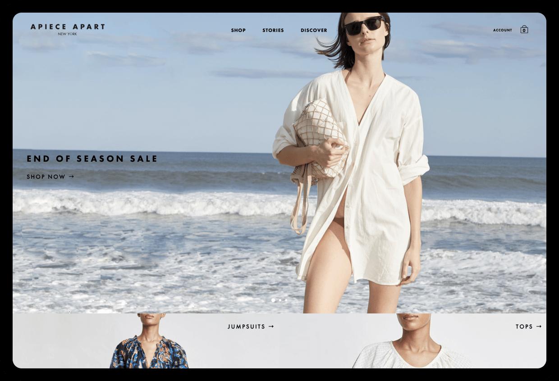 Apiece Apart's Website