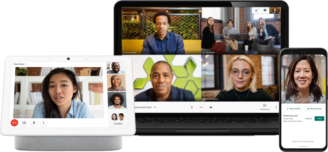 another competitor to zoom and Microsoft teams is google hangouts