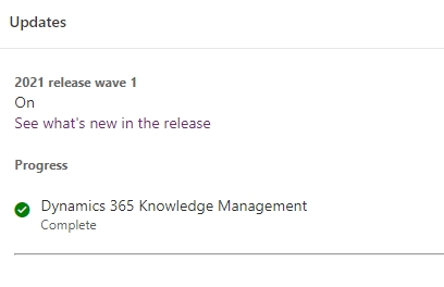 dynamics 365 wave 1 update progress