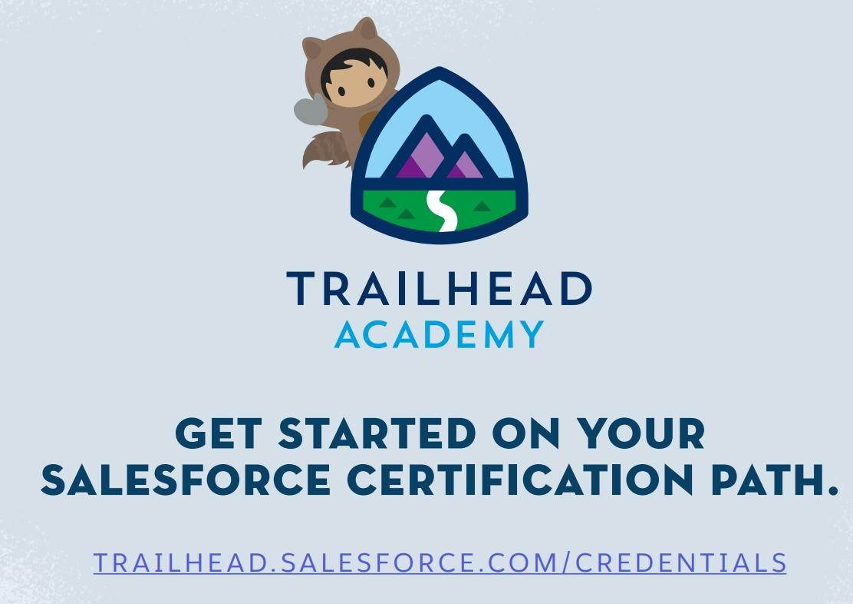 Salesforce trailhead academy