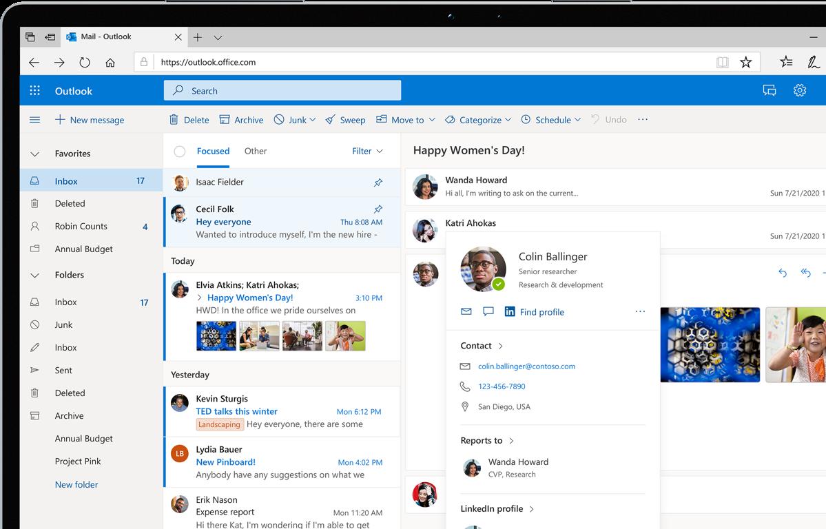Outlook im Web – Sichere E-Mail mit Outlook Web App (OWA)