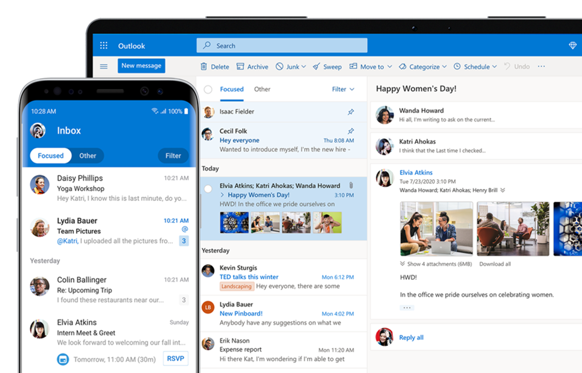 Microsoft Outlook Personal Email and Calendar   Microsoft 365