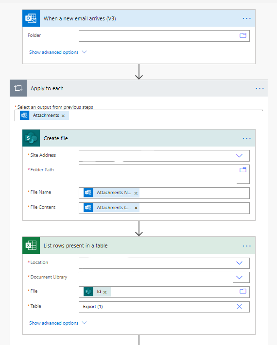 Solved: Extracting .CSV Email Attachment from Outlook and ... - Power  Platform Community