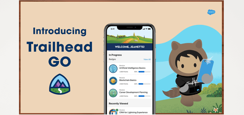 """Skill Up Anywhere for the Jobs of Tomorrow."""" Introducing Trailhead GO, the  Mobile App for Trailhead Exclusive to iPhone and iPad - Salesforce News"""
