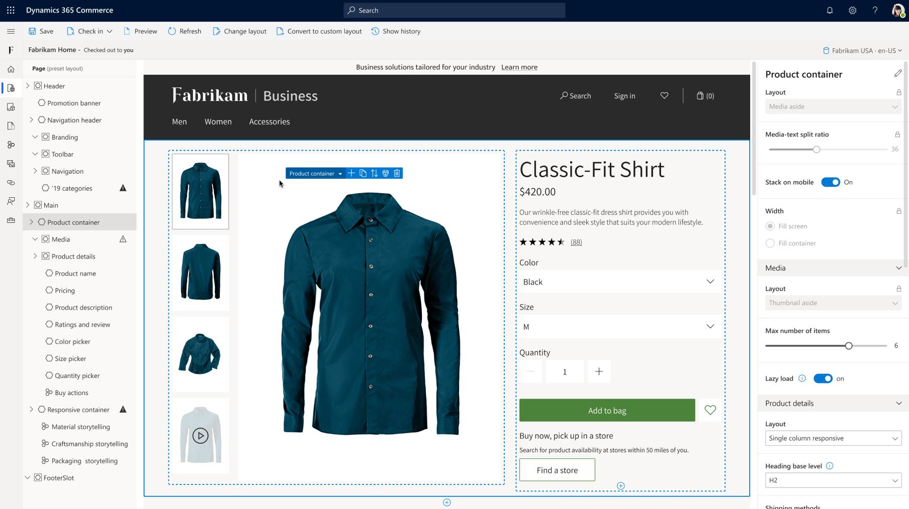 Commerce | Microsoft Dynamics 365