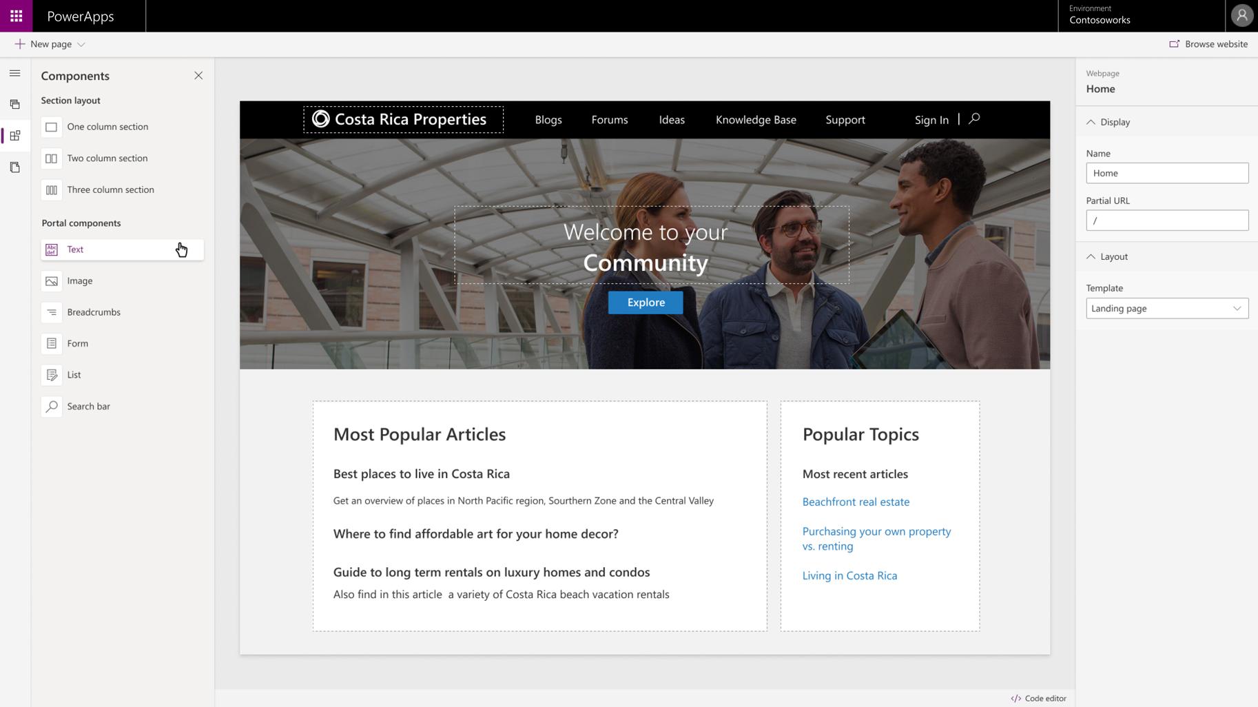 Portals – Low-Code App Portals | Microsoft Power Apps