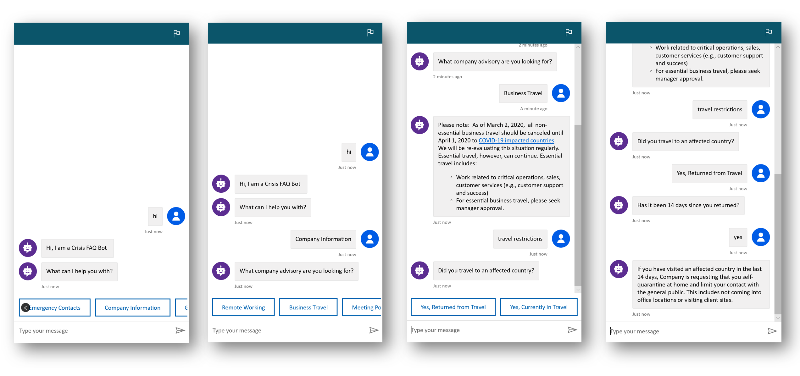 Building a Crisis FAQ bot using Power Virtual Agents   Microsoft Power  Virtual Agents
