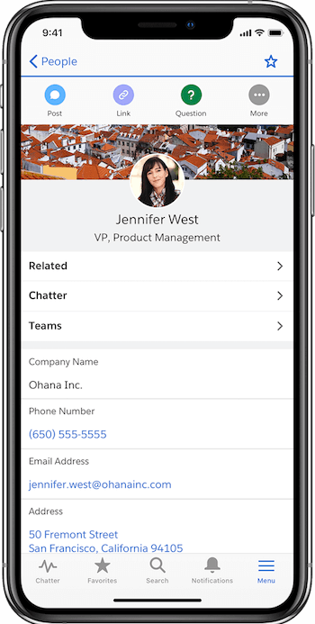 """The Power of Salesforce, on the Go."""" Product VP Dan McCall on the New Salesforce  Mobile App - Salesforce News"""