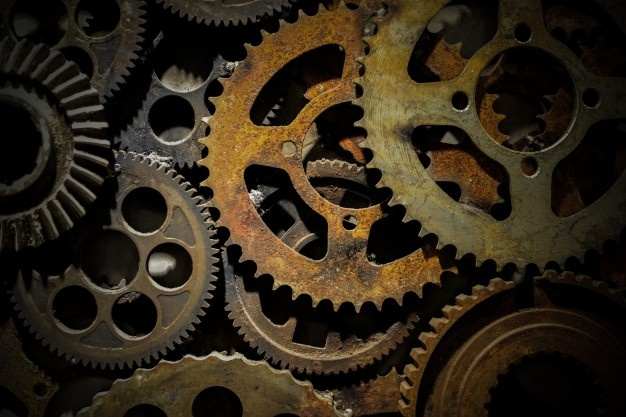 Precision factory iron parts teamwork Free Photo