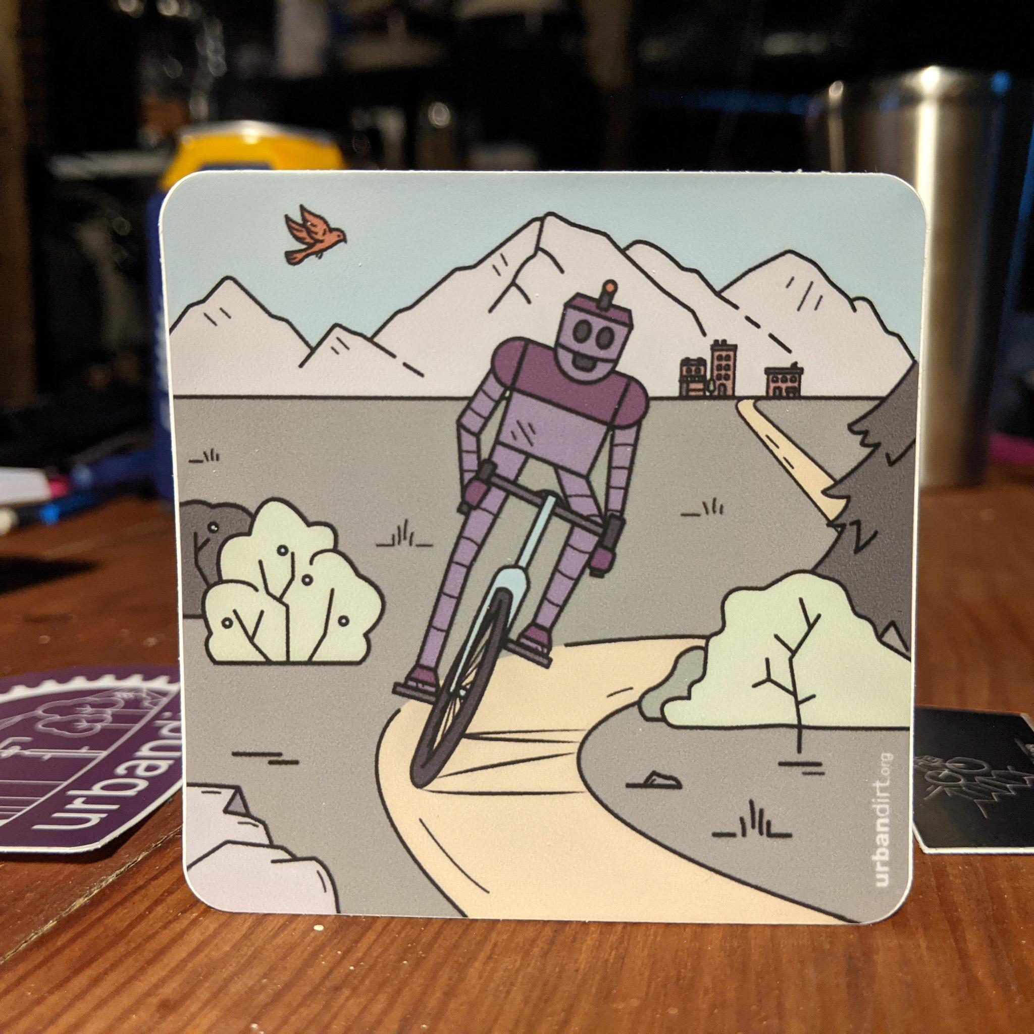 Robo's Adventure Sticker