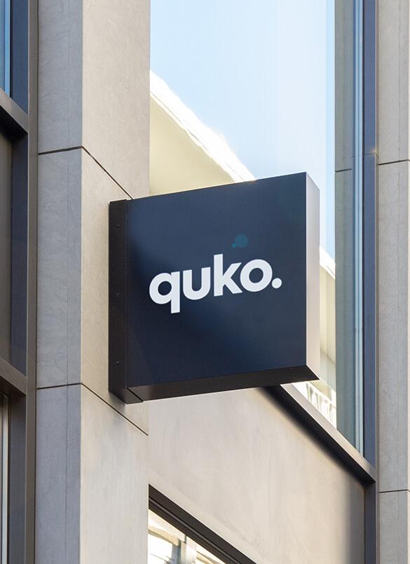 Quko Studio Sign